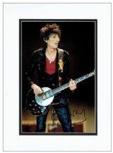 Ronnie Wood Autograph Signed Photo - Rolling Stones